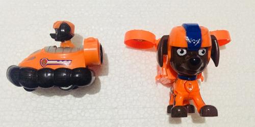 paw patrol patrulla canina vehículo espacial + personaje!!!