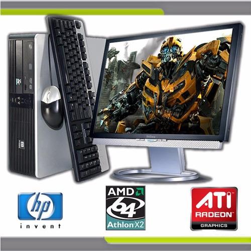 pc computadora completa monitor lcd 19  4gb ram dvd