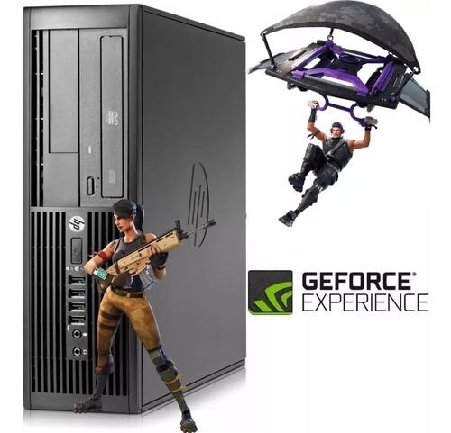 pc computadora kit gamer i5 8gb video lcd 23'' fortnite gta