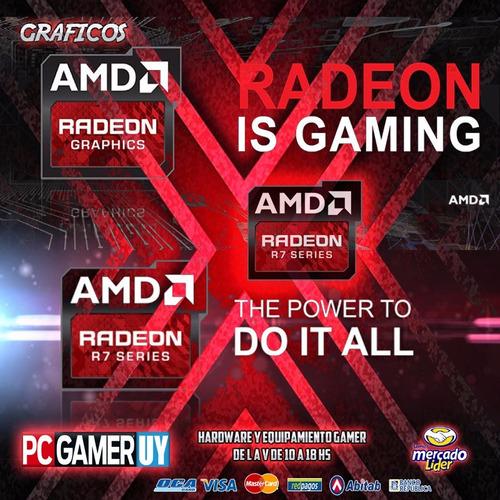 pc  gamer amd socket ryzen 3.5ghz 8gb 1tb radeon pcgamer-uy