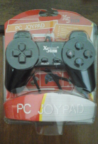 pc joypad x5 tech sin uso