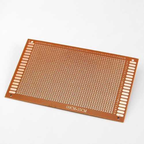 pcb universal  9 x 15 arduino raspberry microcontrolador