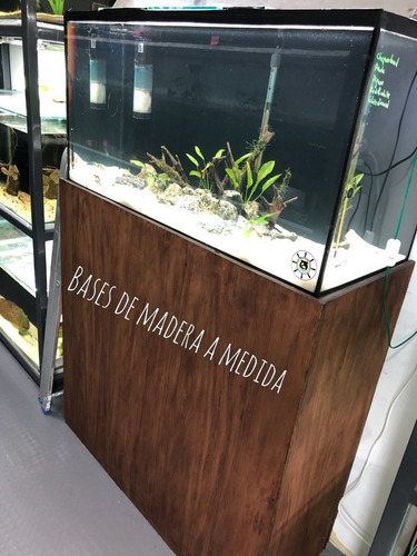 pecera de vidrio rectangular 96 litros - aquassius