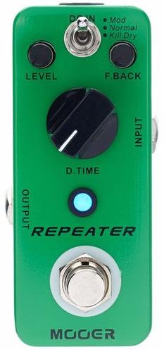 pedal delay digital mooer mdl1 repeater