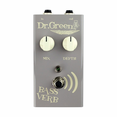 pedal para bajo dr green bass verb reverb pedal for bass