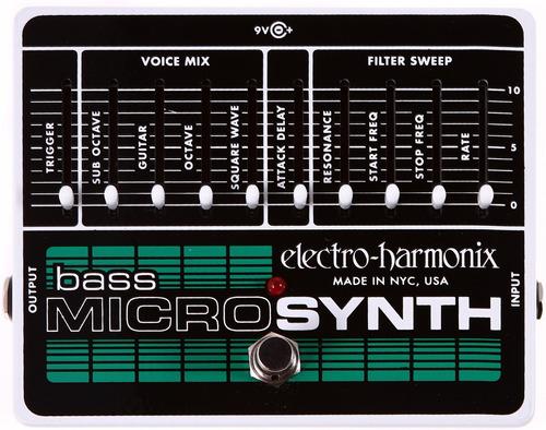 pedal para bajo electro harmonix bass micro synth