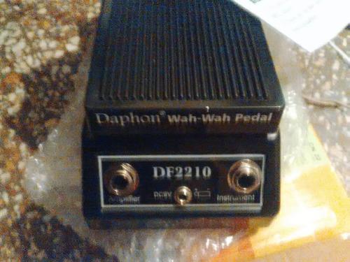 pedal para guitarra wah wah daphon df2210