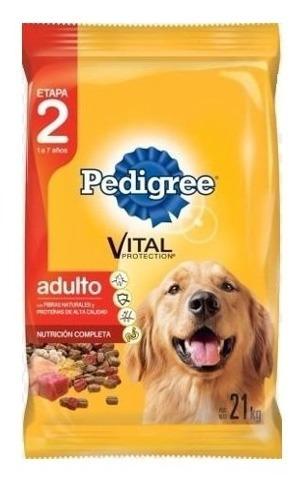 pedigree adulto 21 kg + promo -ver foto- + envío a todo uy!