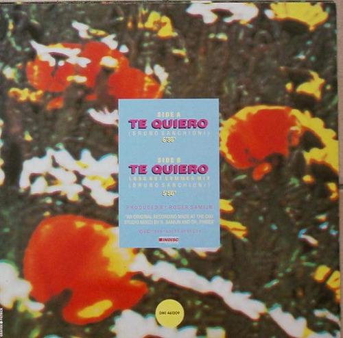 pedro ramon te quiero (long hot summer mix) vinil dj 80's