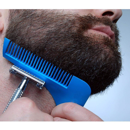 peine barba delineador barba the beard shaper estilista
