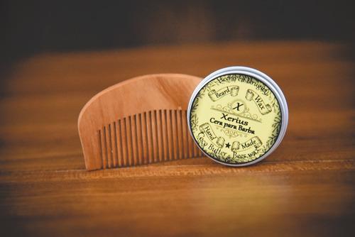 peine de madera para barba