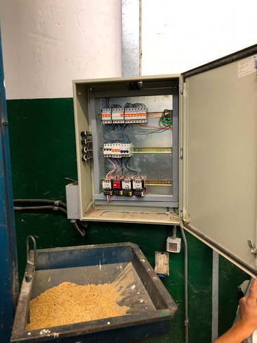 peladora de granos burattini