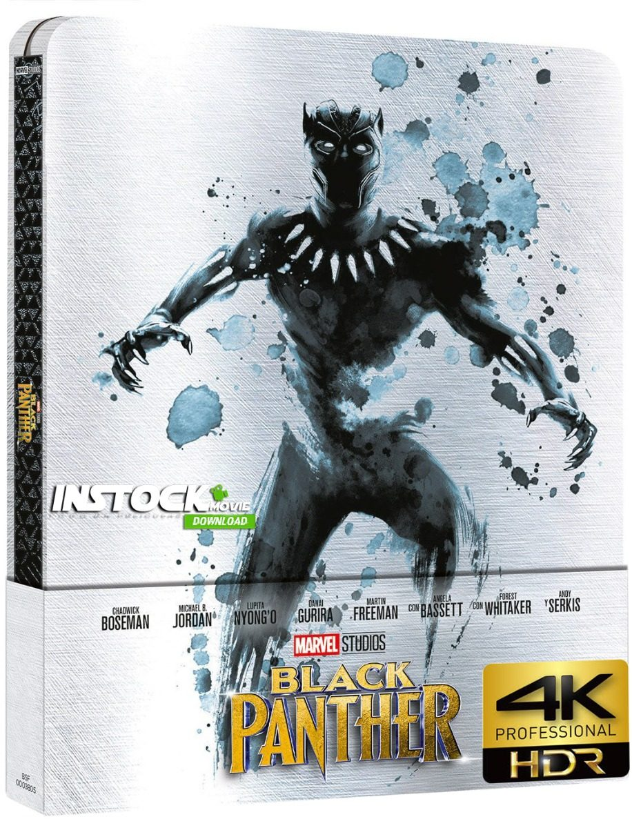 Pelicula Black Panther (2018) Remux 4k Uhd Entrega Inmediata