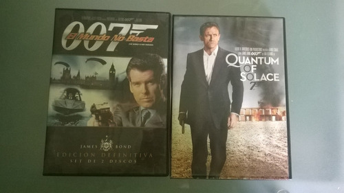 peliculas dvd 007,sherlocck holmes,furia de titanes100% orig