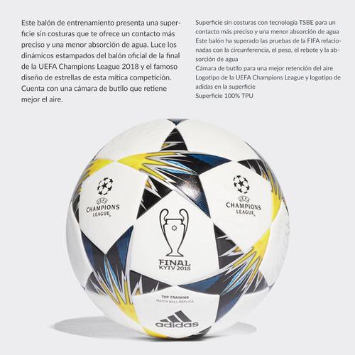 pelota adidas finale champions league de fútbol 11