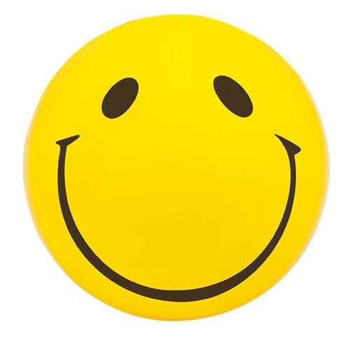 pelota carita feliz anti stress promocional