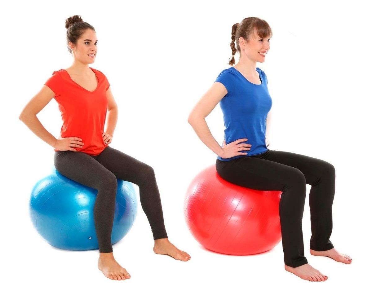 Ejercicios bola pilates para embarazadas