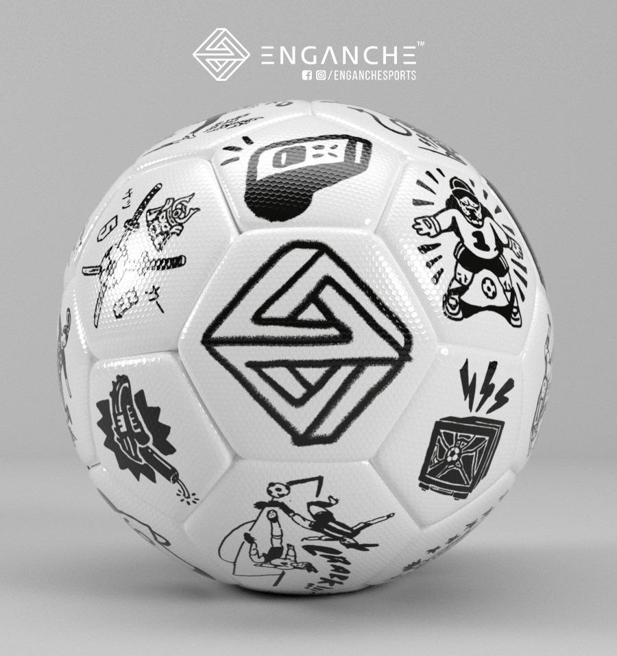 pelota fútbol 11 enganche numero 5 cinco. Cargando zoom. bc230c4e063b3