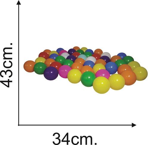 pelota x 50 en red para pelotero 7 cm - el regalón