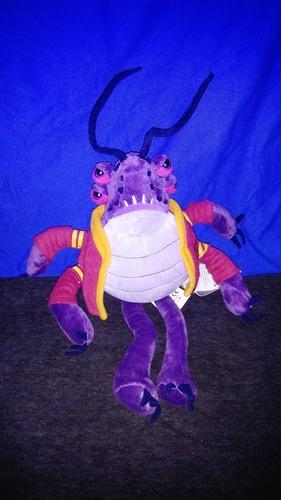 peluche de personaje de javier de monsters university