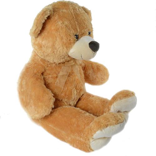 peluches gigantes osos peludos 85 cm gran calidad marron st
