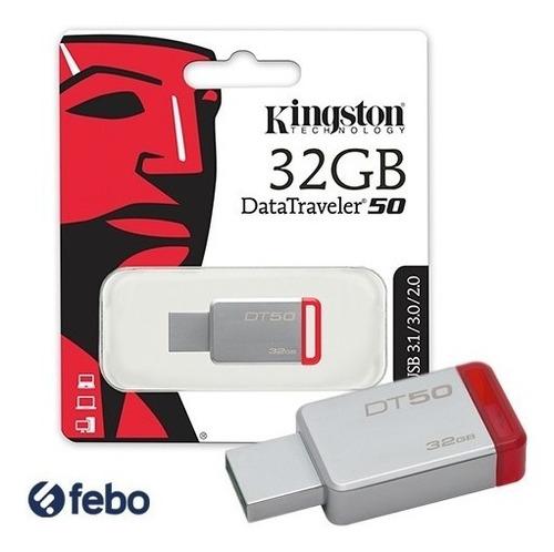 pendrive kingston 32gb usb 2.0 3.0 3.1 pc notebook audio y+
