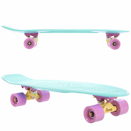 penny skateboard pastel series mint 27´