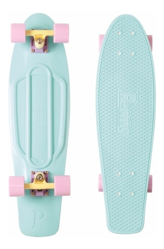 penny skateboard pastel series mint 27´