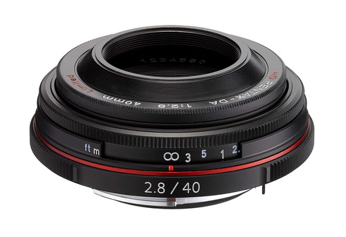 pentax k mount hd da 40mm f 2.8 40 40mm fixed lens for