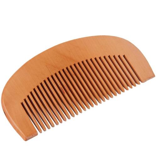 pente de madeira p bigode barba mustache bigodinho