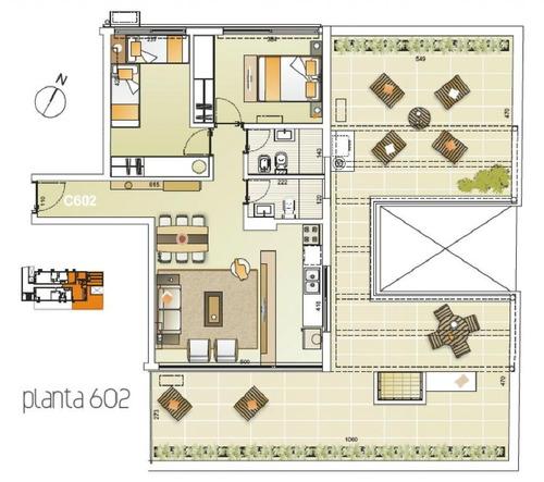 penthouse 2 dorm-gje! av italia sur! e-tower sky