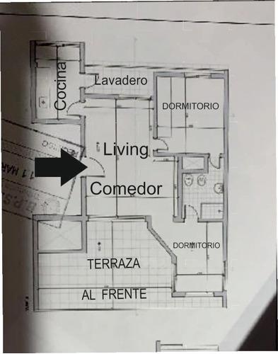 penthouse 2 dormitorios estufa leña amplia terraza