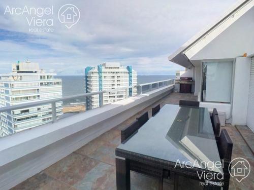 penthouse en alquiler anual - venta en punta del este
