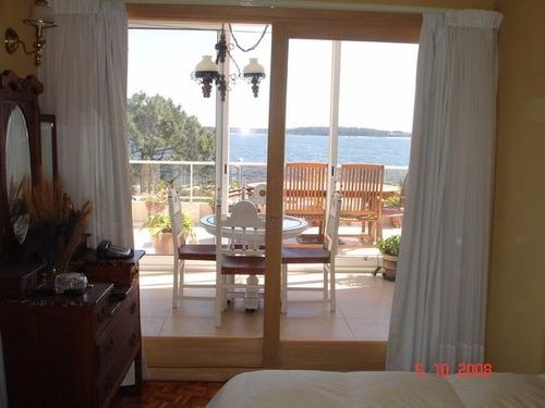 penthouse frente al mar - playa mansa - parada 10