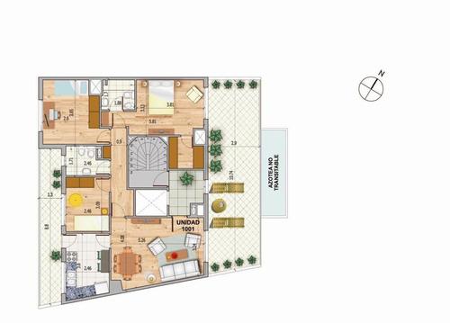 penthouse venta apartamento 3 dormitorios centro de pocitos sobre j. martí entre benito blanco y chucarro a dos del mar. montevideo uruguay