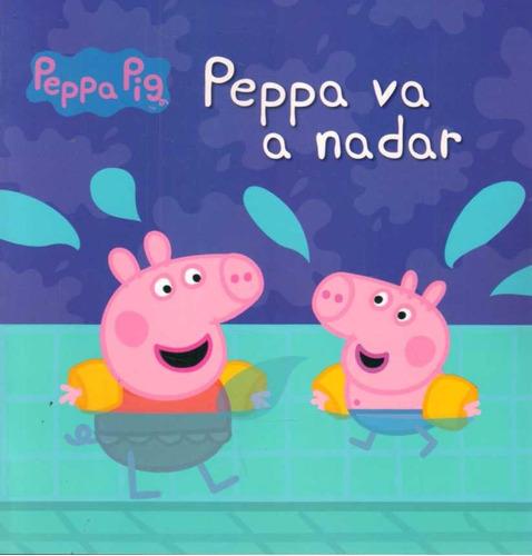 peppa pig va a nadar