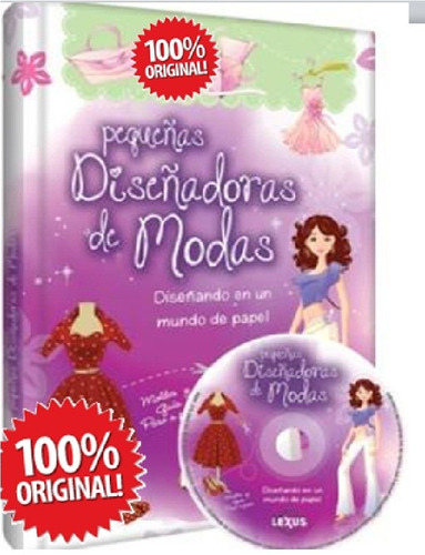 pequeñas diseñadoras de modas 1 vol + 1 dvd     ( lexux)