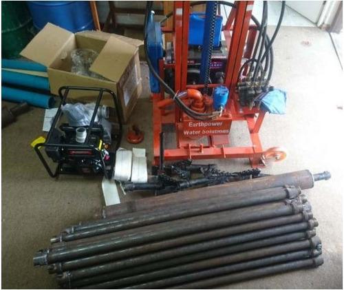perforadora perforaciones pozos de agua equus diesel 80m