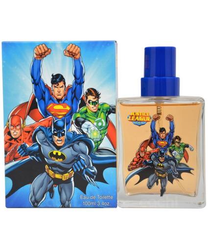 perfume para niños liga de la justicia superheroes
