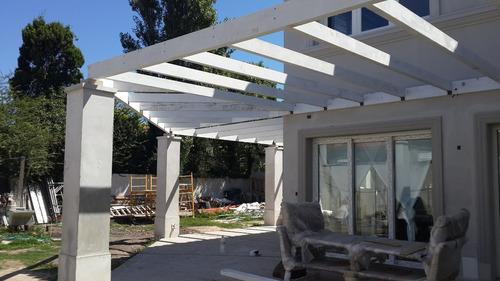 pergolas, decks, techos livianos