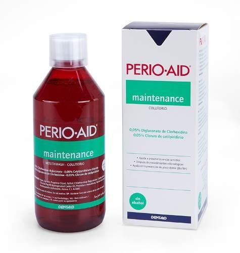 perio·aid antiséptico bucal mantenimiento 500ml