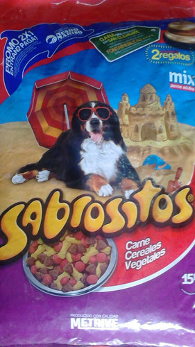 perro sabrositos alimento