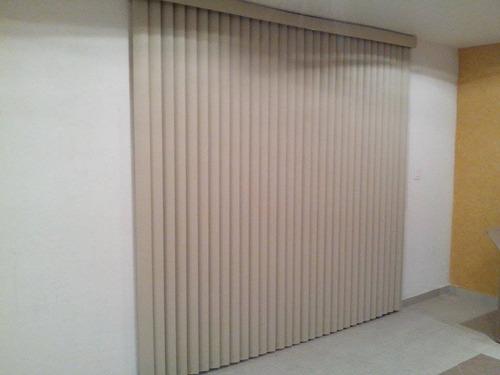 persianas verticales pvc básica gaería y colocación. gratis