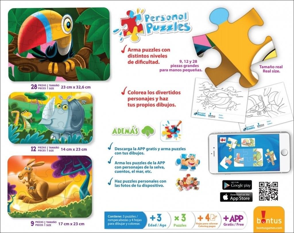 personal puzzles marca bontus app hojas para colorear 95 00