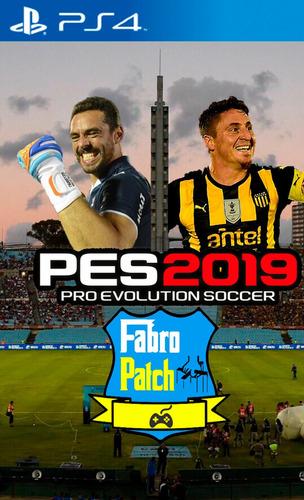 pes 19 fútbol uruguayo 2019 ps4 fabropatch apertura 19