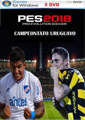 pes 2018 futbol uruguayo para su pc   ( fisico )