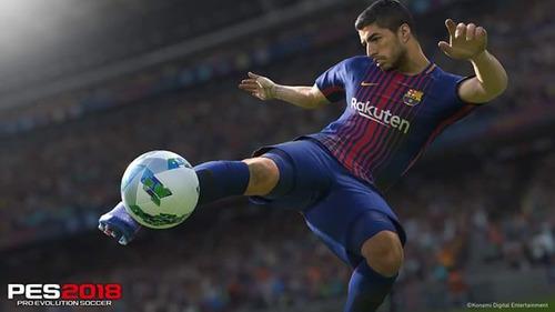 pes 2018 juego físico original- playstation 4