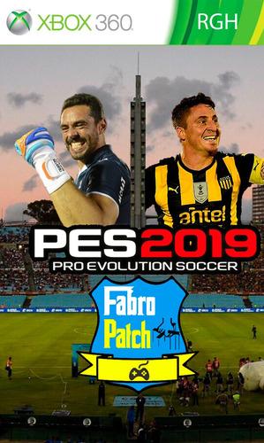 pes 2019 xbox 360 fútbol uruguayo rgh juego actualizado