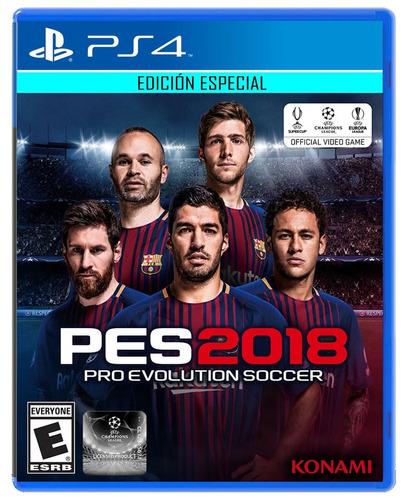 pes2018 edición especial ps4 playstation4 original juego