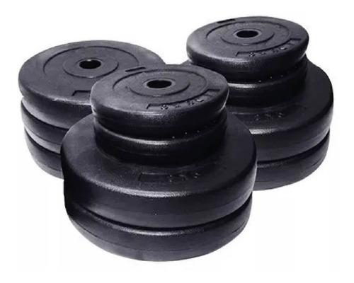 pesas p/ barras mancuernas discos  por kg desde 1.25kg